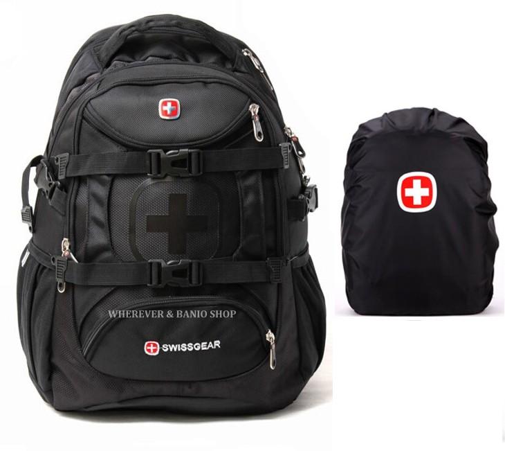 Swiss Gear Men 15.6 Laptop Travel Waterproof Backpack School Bag ...