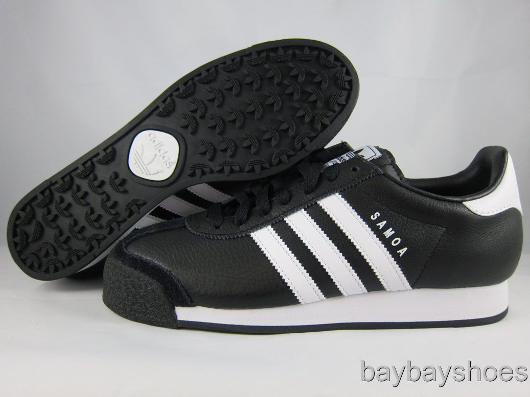 Adidas Samoa Black and White http://www.popscreen.com/p/MTI4NjA2MzE2/ADIDAS-SAMOA-LEATHER-BLACKWHITE-ORIGINALS-CLASSIC-CASUAL-MENS-ALL-