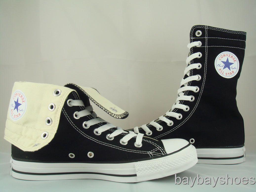 Converse All Star Chuck Taylor X Hi Xhi Black White Tall
