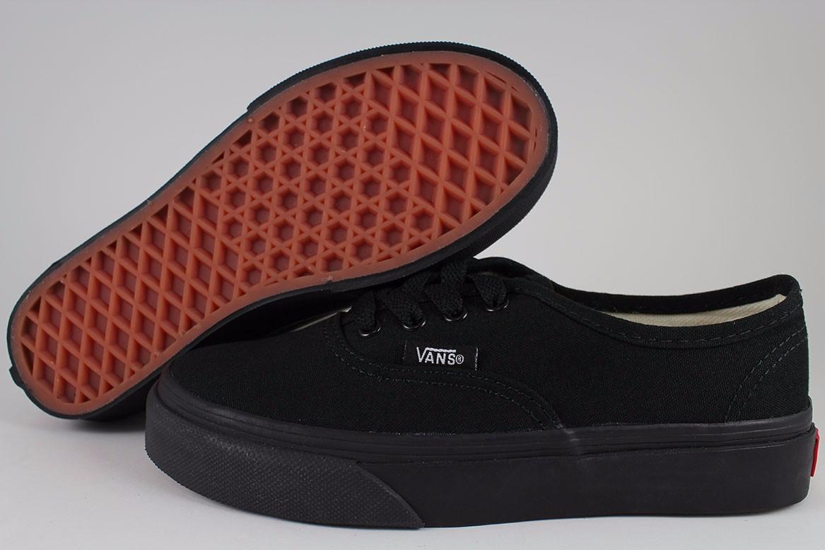 Vans Black Shoes For Girls