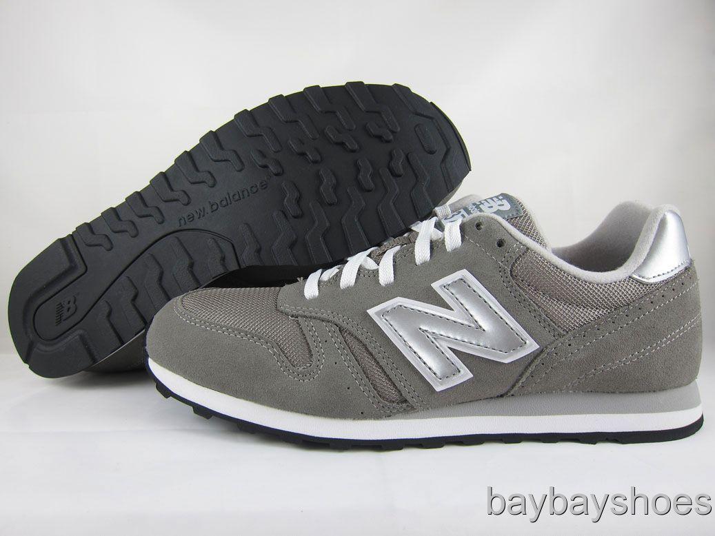 new balance 373 grey silver