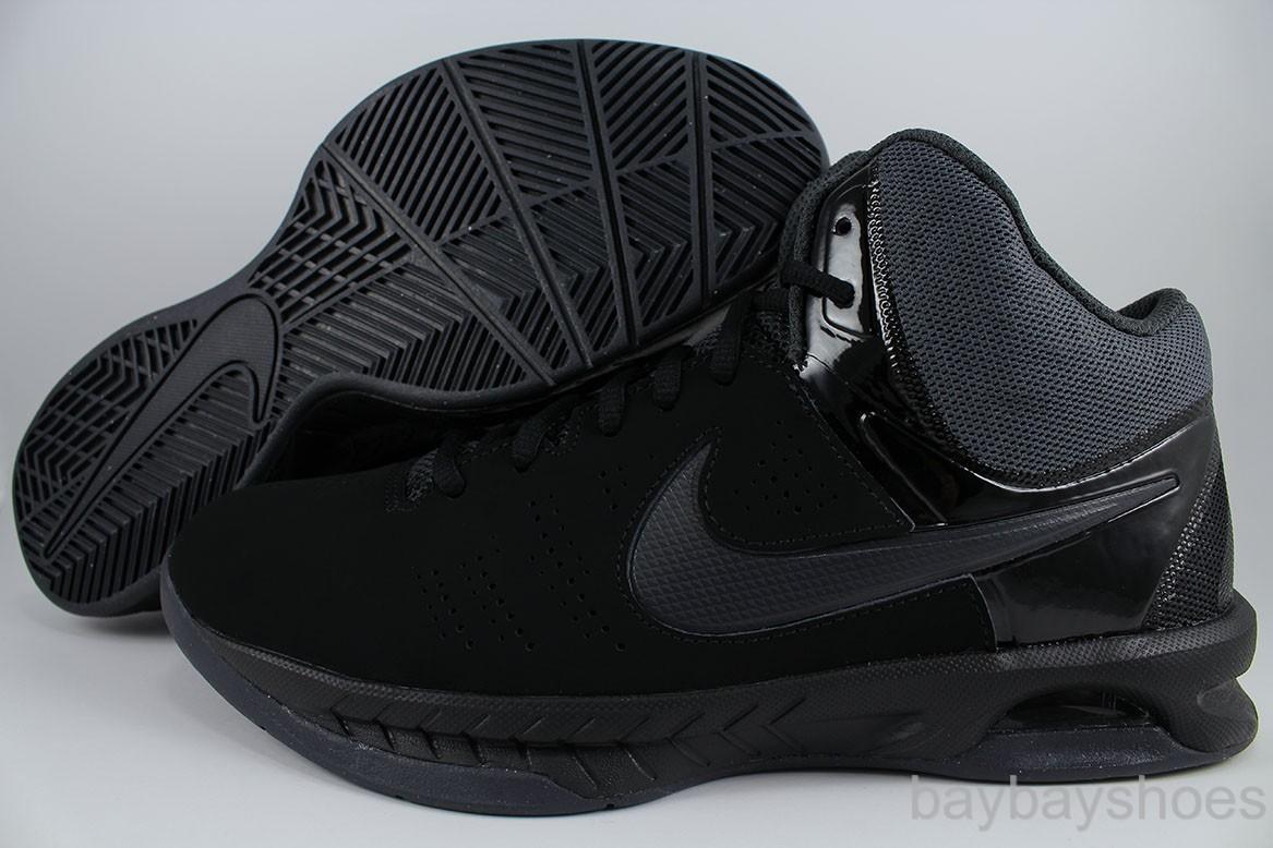 f6be0b6c46f5 Nike Men s Air Visi Pro VI Black Mtlc Platinum Dark Grey Basketball Shoe 7.5
