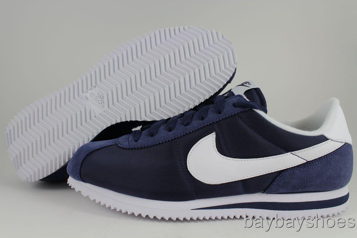 Nike Cortez Basic Nylon Blue