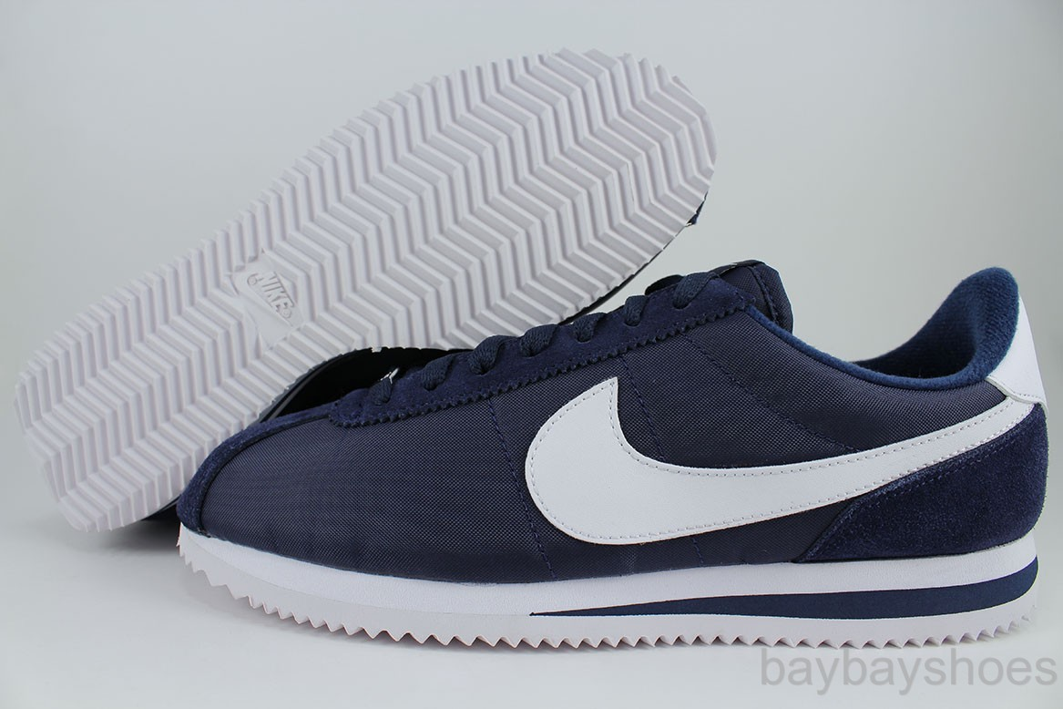 nike cortez blue and yellow