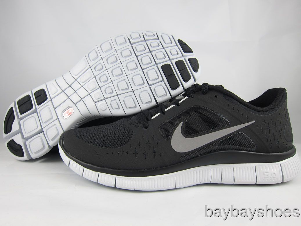 nike free run 3 mens black