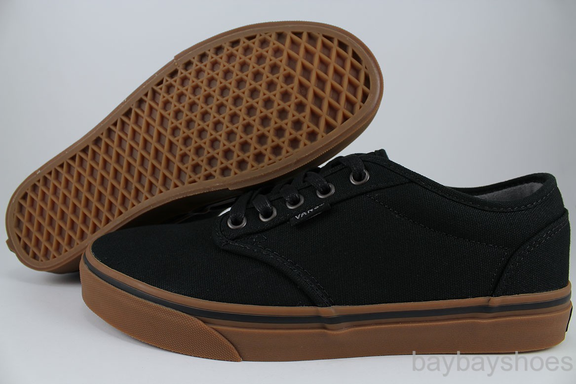 vans atwood low black gum