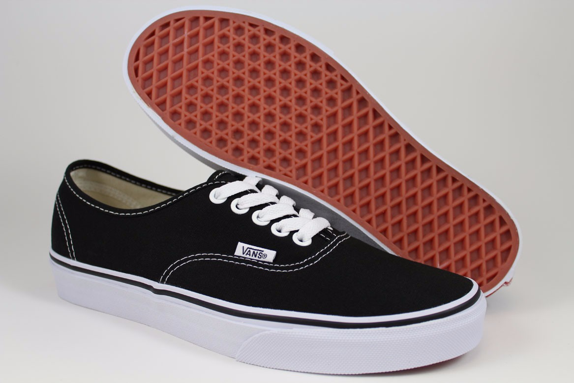 vans classic black white
