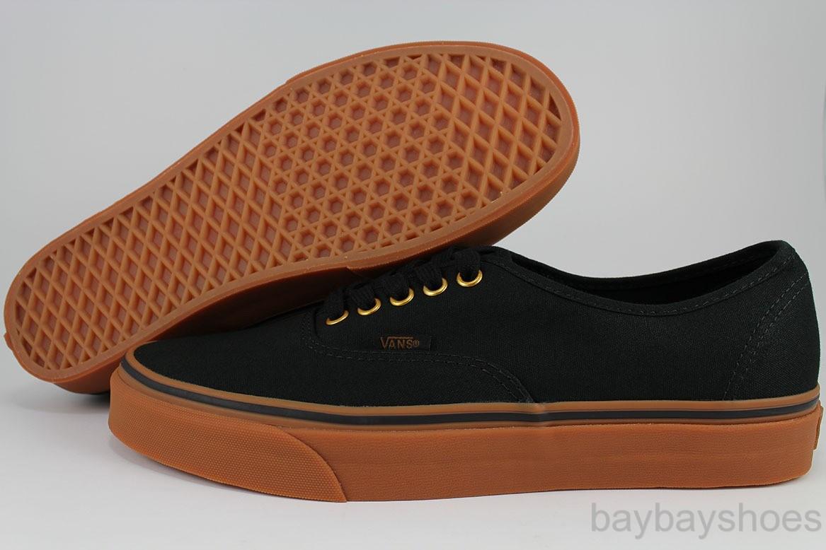 vans authentic black gum sole philippines
