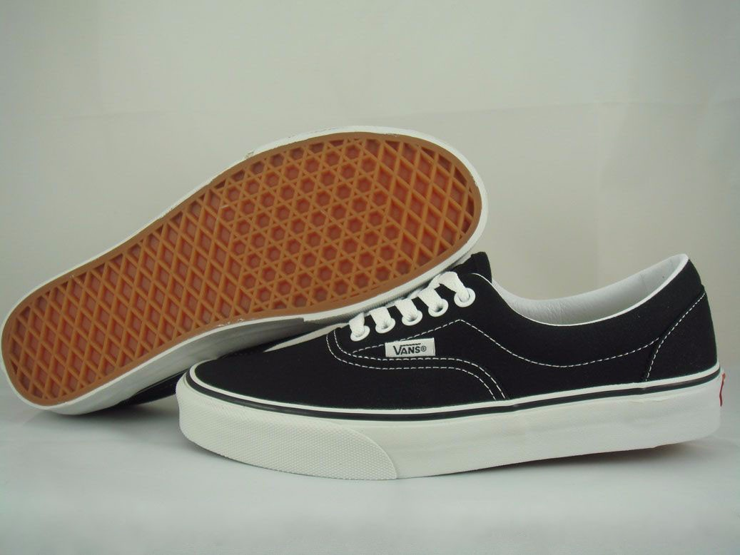 Vans Era Black White