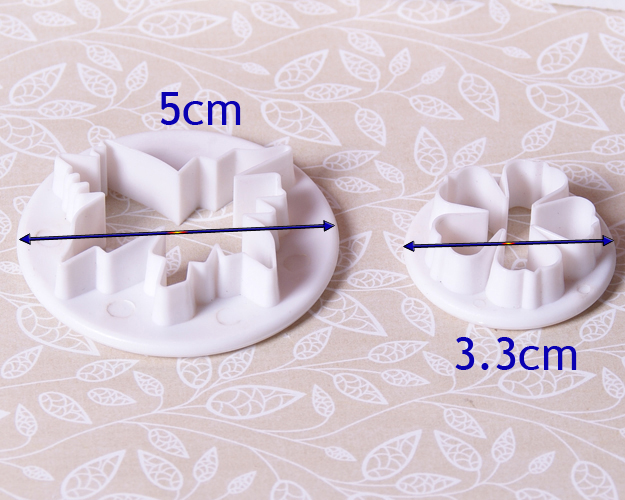 0 99 Sale Fondant Cake Decorating Icing Plunger Cutter ...