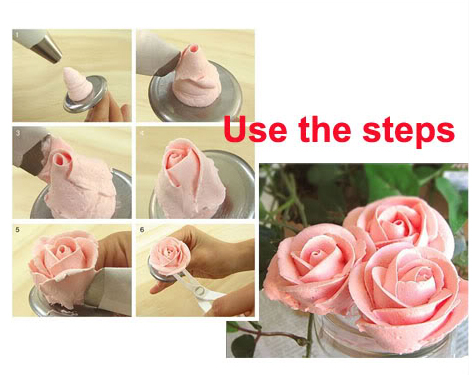 How To Use Cake Decorating Nozzles : 24pcs Cake Icing Piping Nozzles Pastry Tips Cookies ...