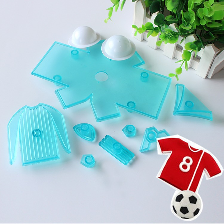 Europe Football Cup Cloth Cookie Cutters Fondant Gum Paste