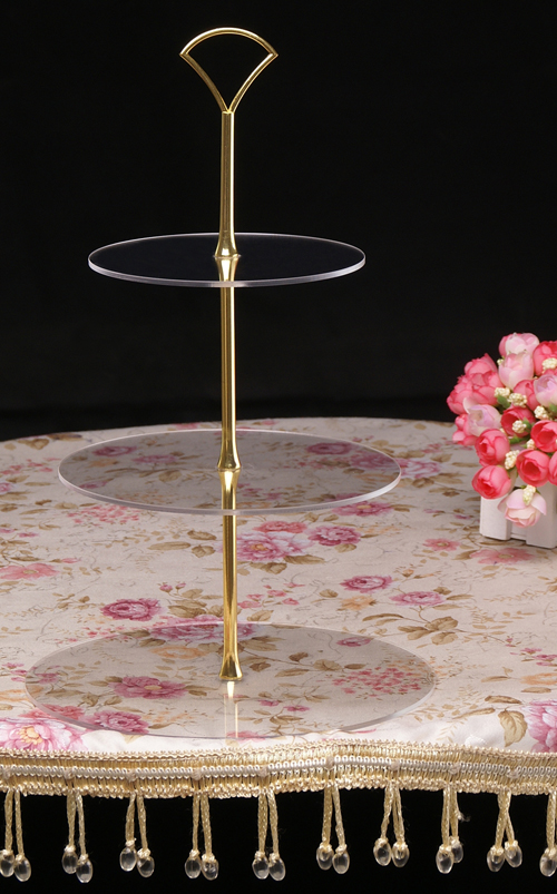 Gold Art Deco Cake Stand : Tier Acrylic Cupcake Cake Stand Gold Art Deco Fan Handle ...
