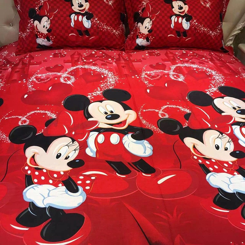 Image Result For Red Minnie Mouse Double Duvet Set