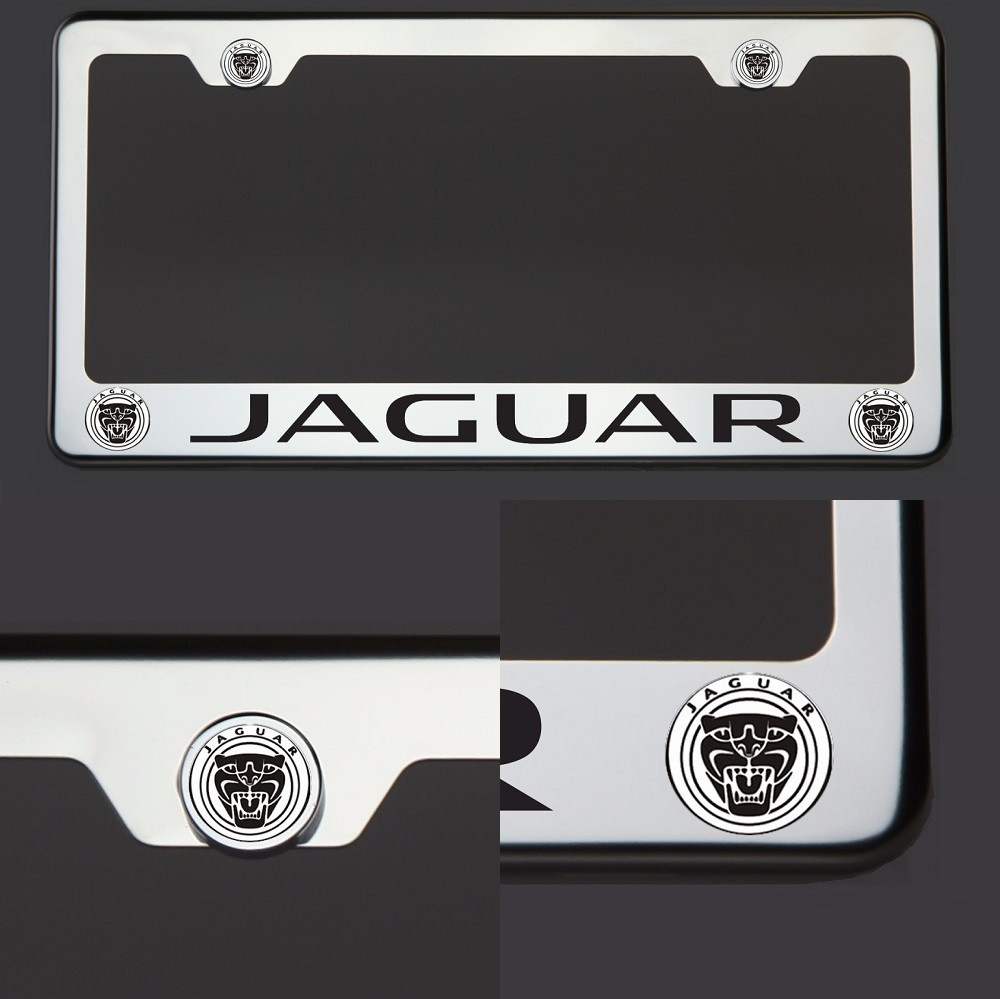 Polish Mirror Stainless Steel New Jaguar Black Laser
