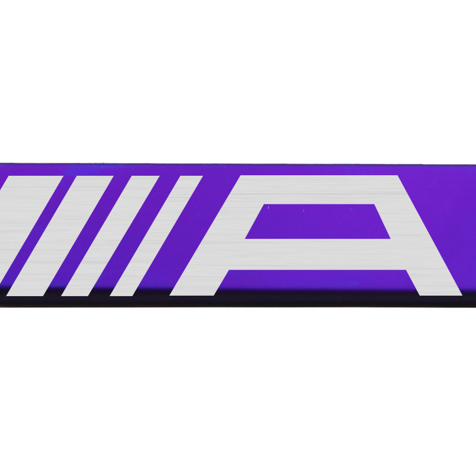Purple Chrome Laser Etched Acura Logo License Plate Frame T304 Stainless Steel