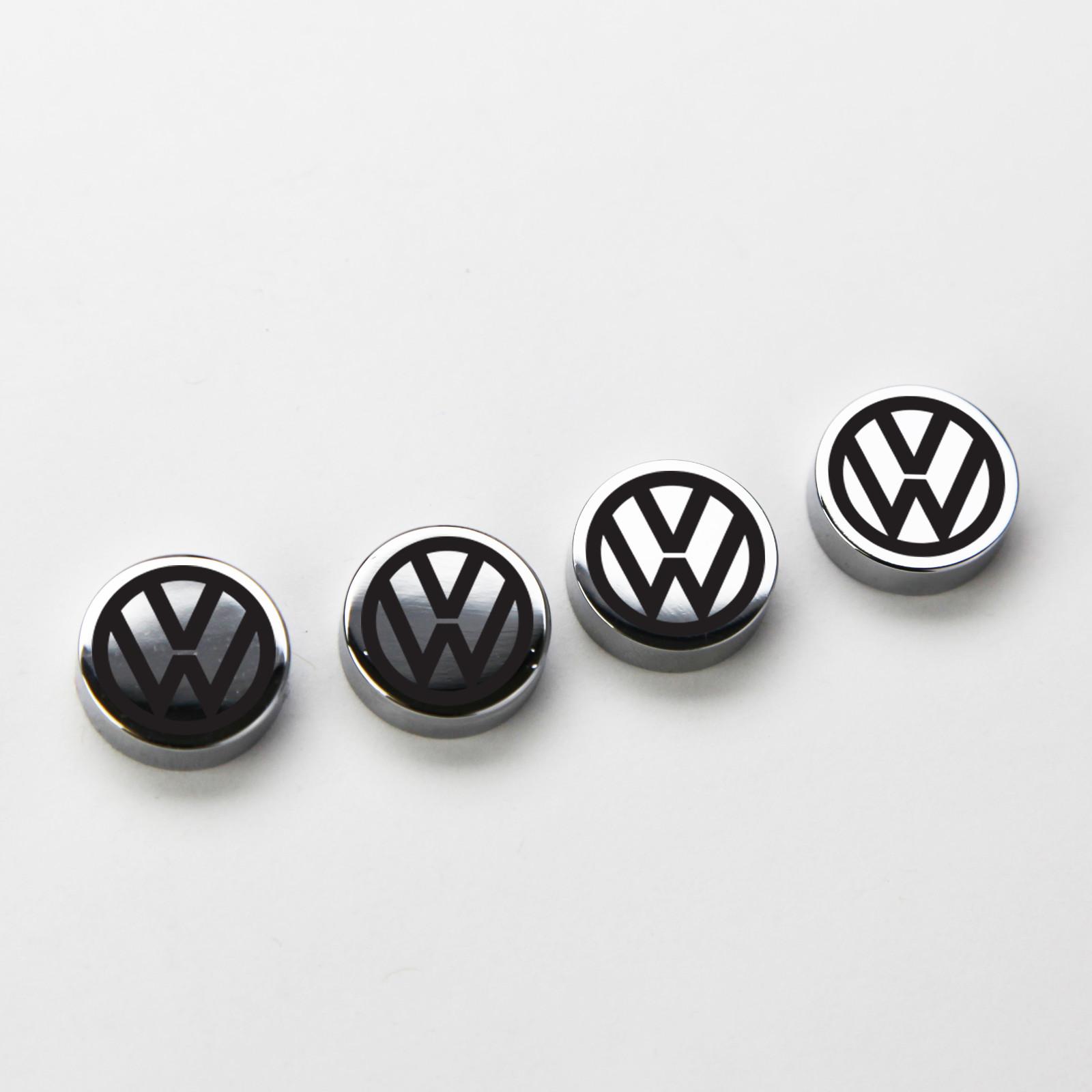 VW Volkswagen License Plate Frame Bolts Screws