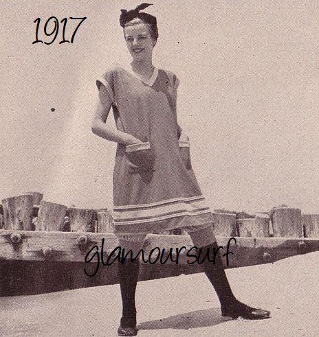 Glamoursplash: Swimwear through the ages