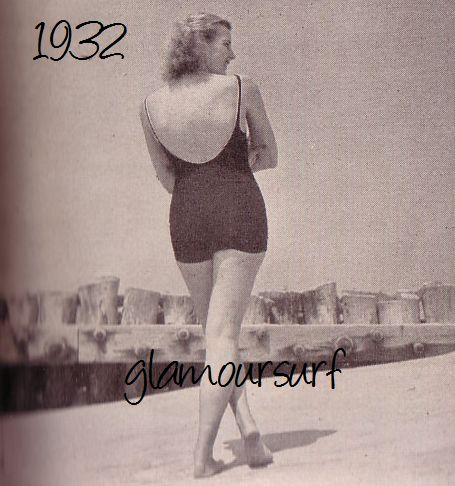 Glamoursplash swimwear through the ages the early 1930 s