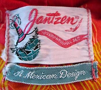 1950's Jantzen International Set Label