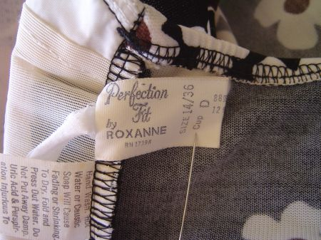 1970's Roxanne Label