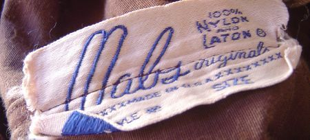 Late 40's early 50's Mabs label