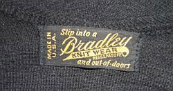 1920's Bradley Label