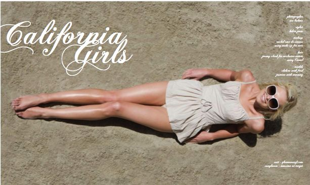 California Girls Eliza Magazine Glamoursurf Vintage Swimwear
