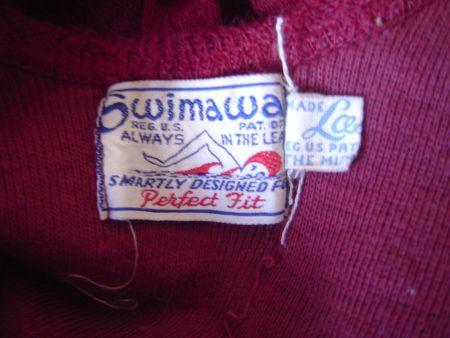 1930's Swimaway Label