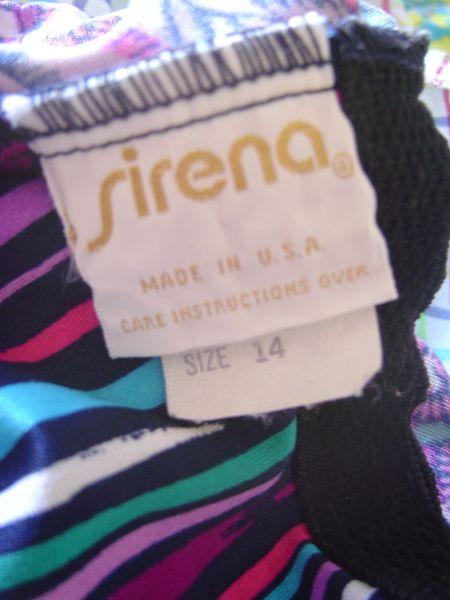 1970's Sirena Label