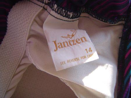 1970's Jantzen label