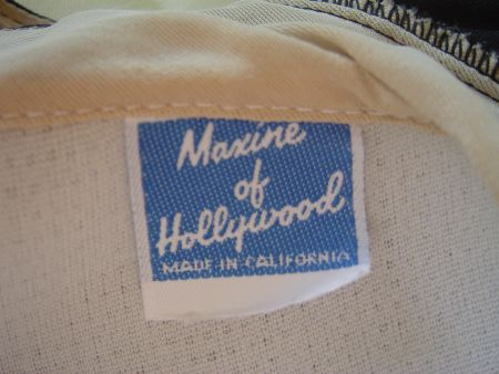 70's Maxine of Hollywood Label