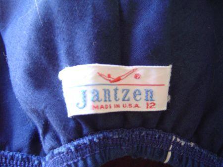 1960s Jantzen label