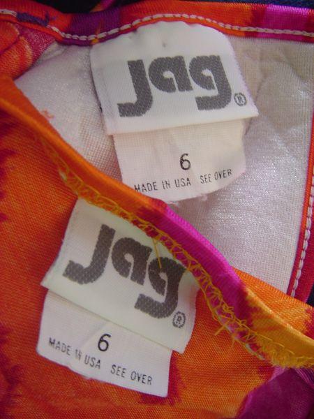 1980's Jag Label