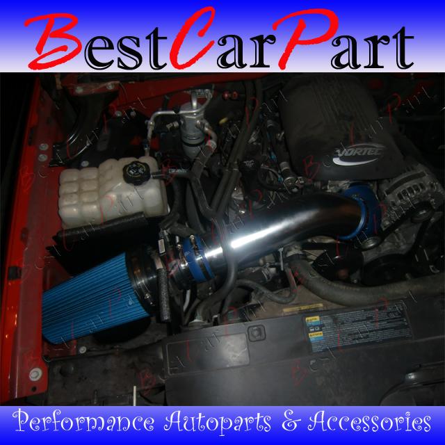 2003 Chevrolet Suburban 1500 Transmission: BCP BLACK 99-07 Silverado 1500 1500HD V8 Cold Air Intake