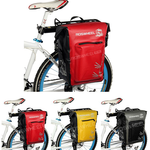 2013 NEW Design Cycling Bicycle Bag Bike rear seat bag pannier Waterproof