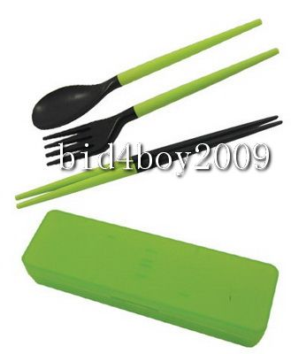 Separable-Travel-Tableware-Kit-Set-Chopsicks-Spoon-Fork
