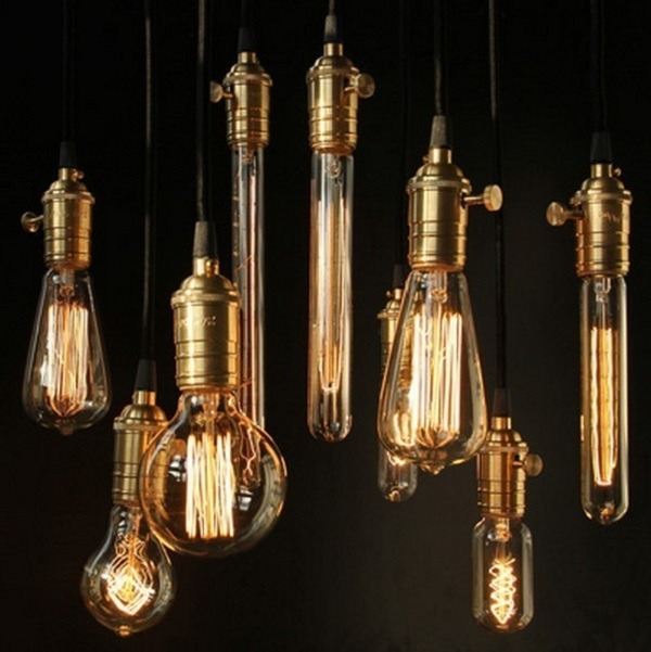 light bulbs vintage retro antique industrial style lights edison bulbs