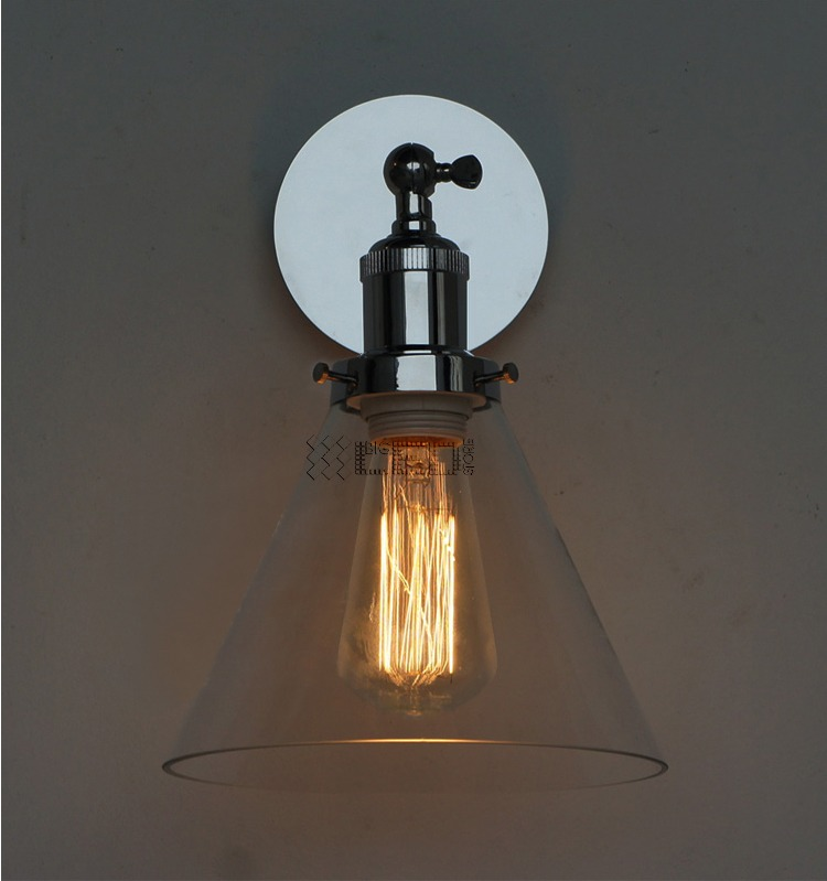 Old Rustic Wall Lights : Industrial Chrome Wall Lamp Retro Wall Light Rustic Wall Sconce Vintage Light eBay