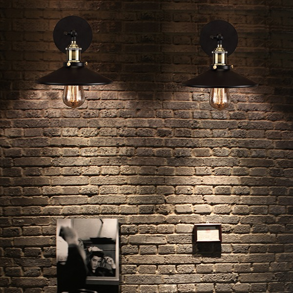 Retro Interior Wall Lights : Industrial Wall Lamp Retro Wall Light Rustic Edison Wall Sconce Vintage Light eBay