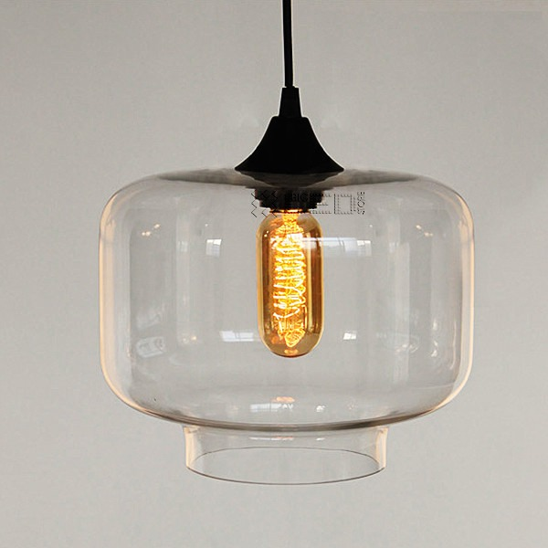 NEW Modern Retro Glass Pendant Lamps Kitchen Bar Cafe
