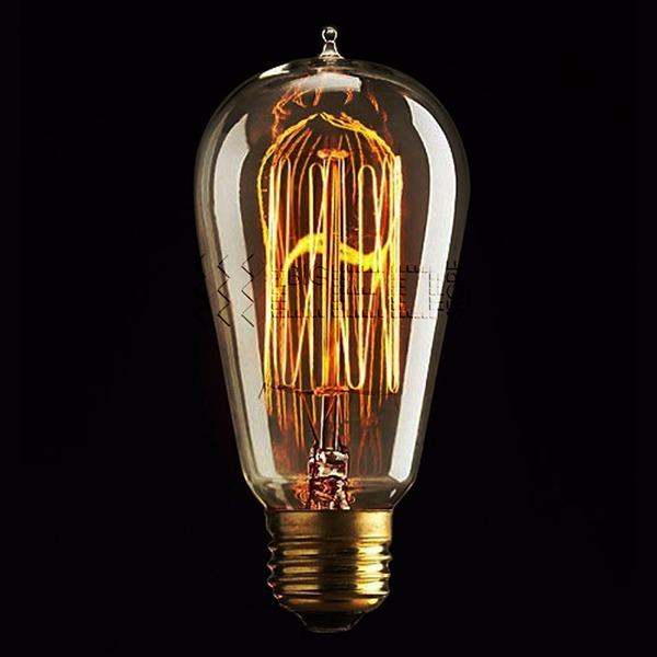 filament ampoule style industriel antique r tro vintage. Black Bedroom Furniture Sets. Home Design Ideas