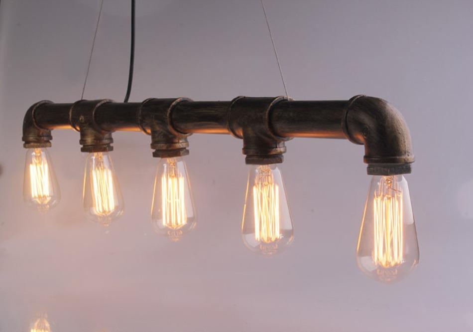 Pipe Industrial Ceiling Lights