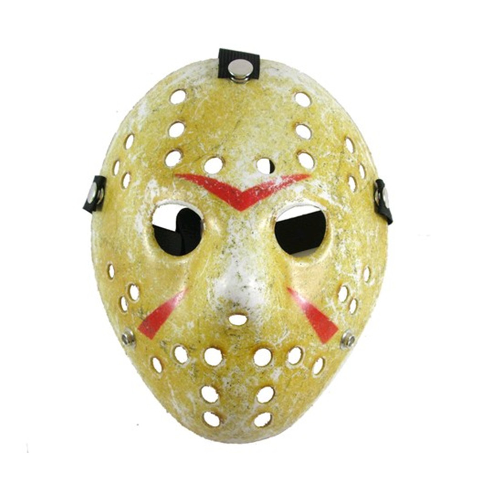 UK Halloween Jason Voorhees Friday 13th Deluxe Hockey Mask Fancy ...