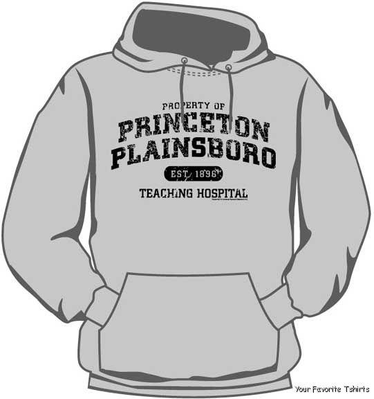 HOUSE-M-D-PRINCETON-PLAINSBORO-HOODIE-M-2XL