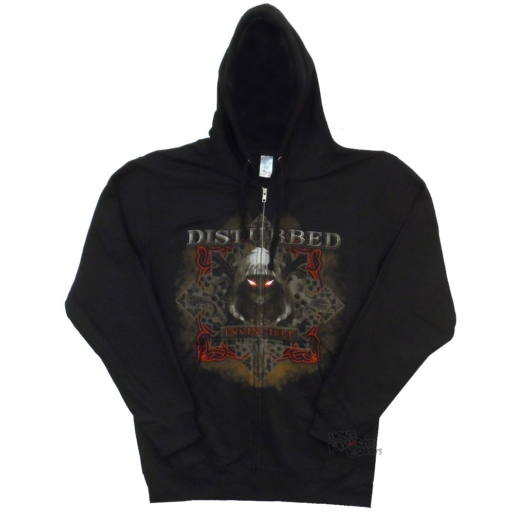 Disturbed Giant Face Lightweight Hoodie