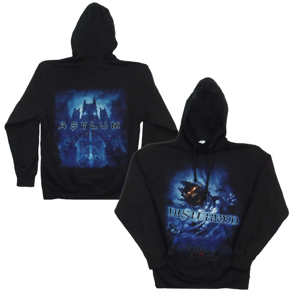 Disturbed Blue Fade Licensed Adult Hoodie s XXL | eBay