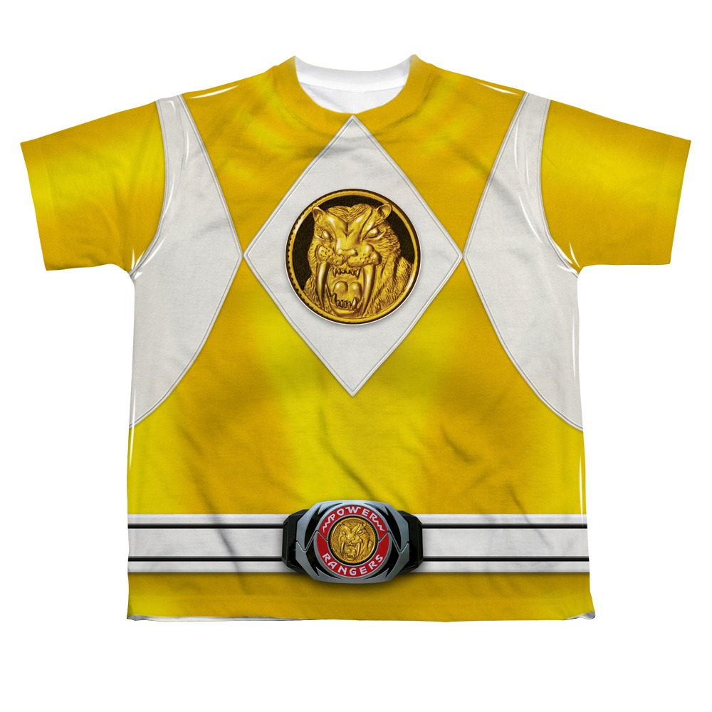 Power Rangers Yellow Ranger Costume Power Rangers Yellow Ranger