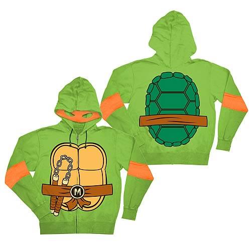 Ninja turtle zip up hoodie