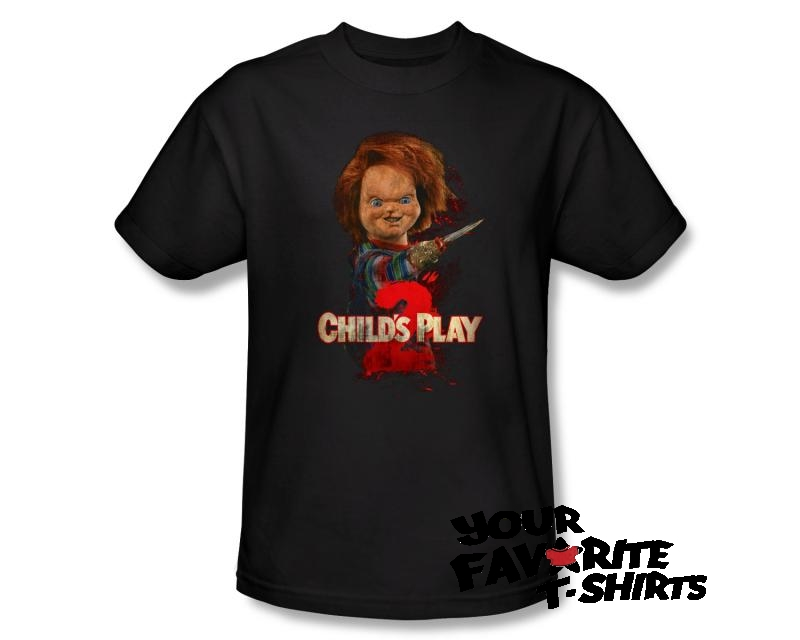 Officially-Licensed-Childs-Play-2-Heres-Chucky-Adult-Shirt-S-3XL